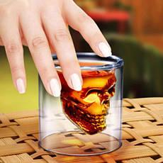 Стакан с черепом внутри DOOMED, стакан для виски с черепом PR1, фото 2