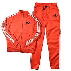 Спортивний костюм Adidas (Адідас) червоного кольору для тренувань