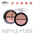 Румяна двойные TopFace Instyle Twin Blush On РТ-353, фото 3