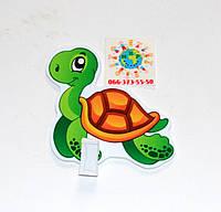 Держатель рисунка с прищепкой Черепаха