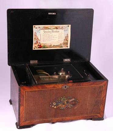 Музыкальная шкатулка  XIX век, фото 2