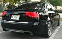 Спойлер сабля тюнинг Audi A4 B7 стиль ABT