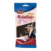 Лакомство для собак с говядиной Trixie Rotolinis / 120 г