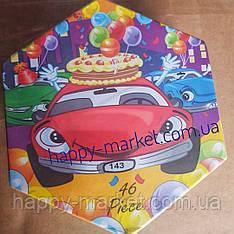 Набор для детского творчества Машина (46 предметов) шестигранный