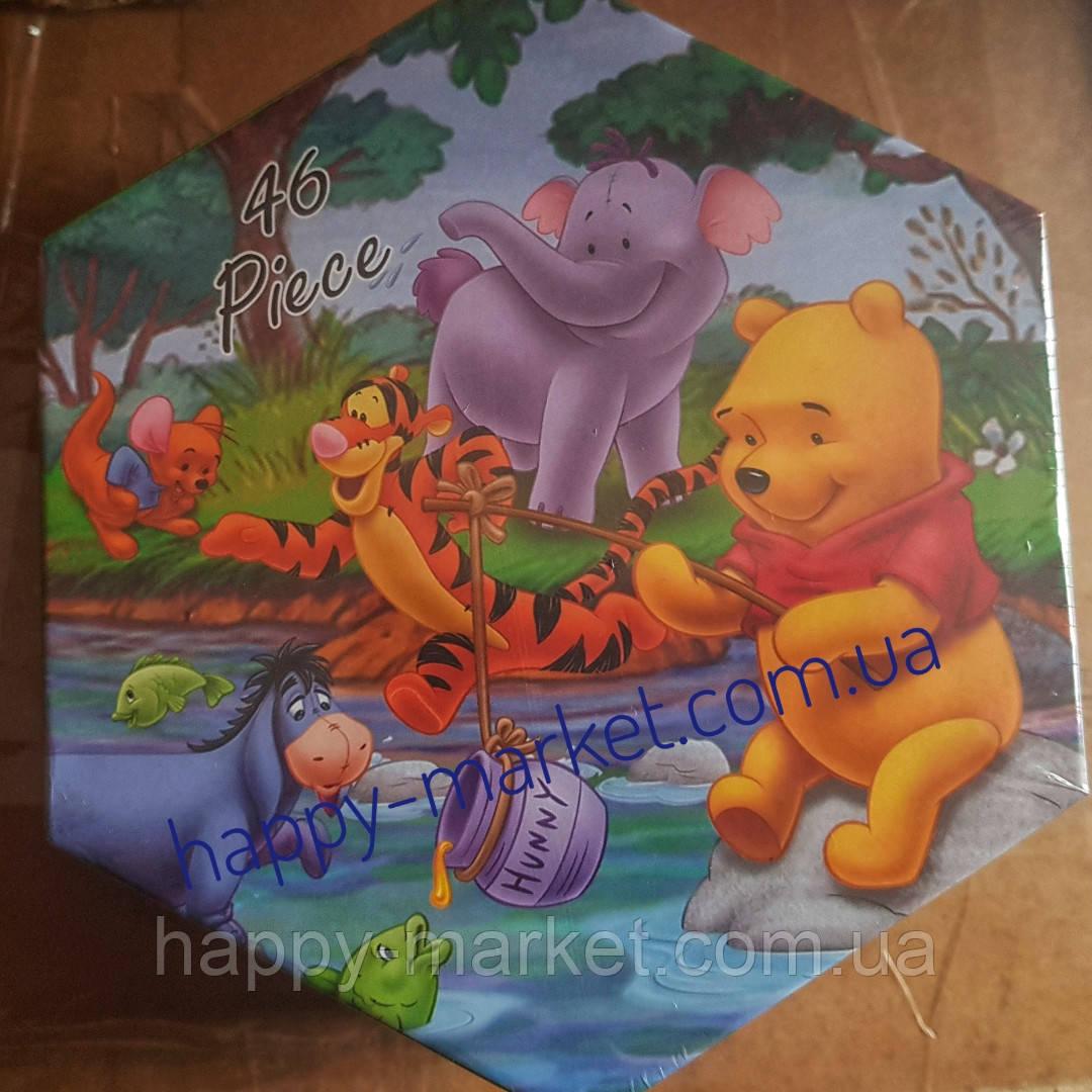 Набор для детского творчества Винни Пух (46 предметов) шестигранный