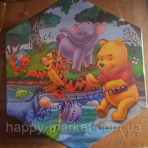 Набор для детского творчества Винни Пух (46 предметов) шестигранный, фото 2