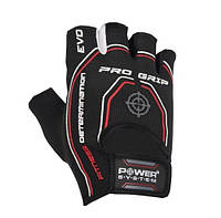 Перчатки для фитнеса и тяжелой атлетики Power System Pro Grip EVO PS-2250E Black S
