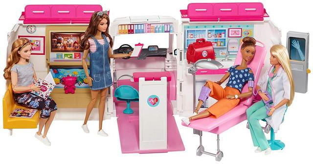 Барби Машина скорой помощи Barbie Clinic Ambulance