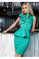 "Платье ""GUCCI"" зеленое, фото 1"
