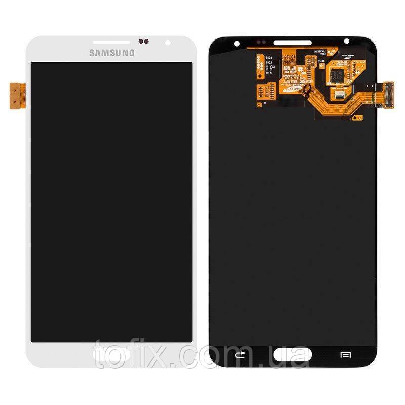 Дисплейный модуль (экран и сенсор) для Samsung Galaxy Note 3 Neo N7502, N7505, белый, оригинал