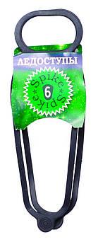 Резиновые ледоходы для обуви на 6 шипов