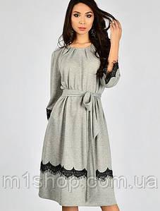Женское платье с кружевом больших размеров (3338 lp)