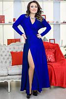 Модные женские платья Валери электрик, фото 1