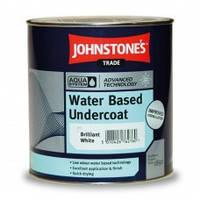 Водорастворимая грунтовка для древесины и металла Johnstones Water-Based Undercoat 1 л