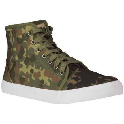 Тактичні кеди камуфляж флектарн Army Sneakers FLECKTARN Mil-Tec DE, фото 2