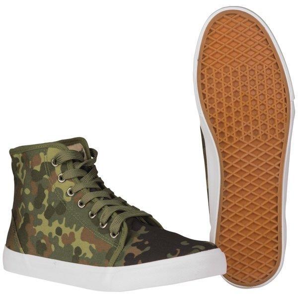 Тактичні кеди камуфляж флектарн Army Sneakers FLECKTARN Mil-Tec DE