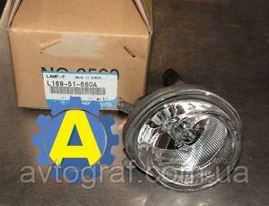 Фара противотуманная левая и правая на Mazda 5 (Мазда 5) 2005-2010
