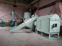 Шеф-монтаж линии брикетирования, сушки АВМ 0-65