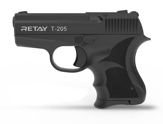 Стартовый пистолет Retay T205 8 mm Black, фото 2