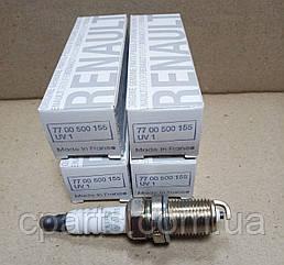 Свеча зажигания 1-контактная Dacia Sandero 1.4 1.6 (оригинал)