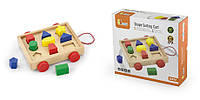 Сортер Viga Toys Тележка с блоками (58583)