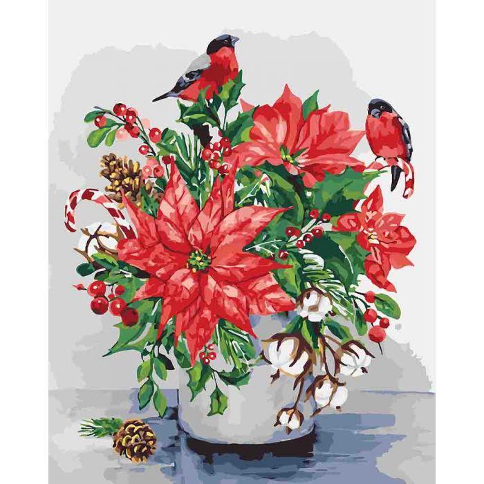 Картина по номерам Фарби зими, 40x50 см., Идейка