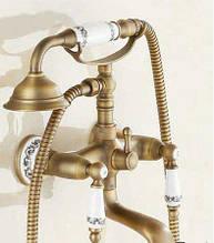 Змішувач для ванни в бронзі 0586