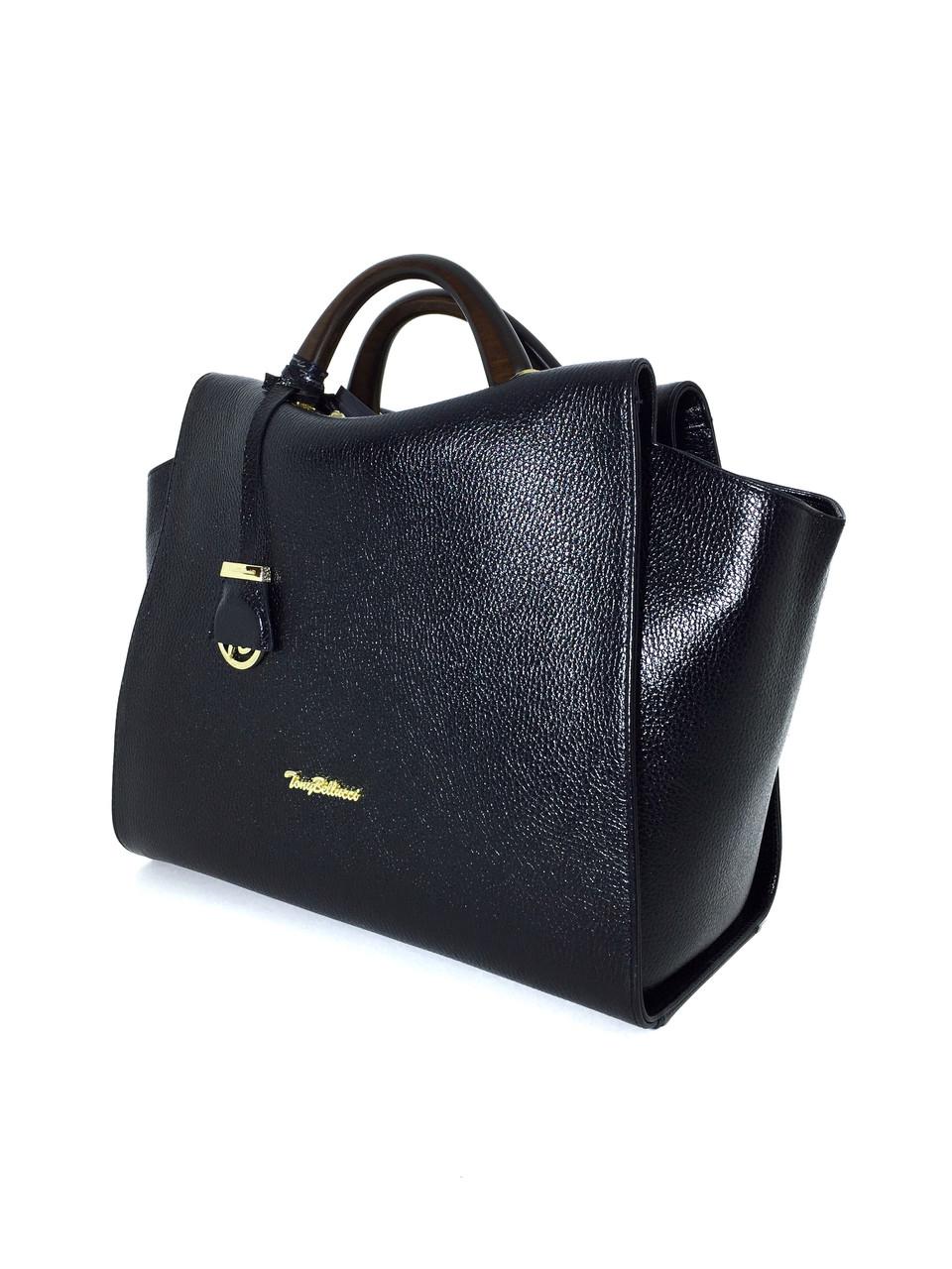 cca6ac391727 S-00-97 Сумка женская Tony Bellucci кожа натуральная, черная, цена 3 184  грн., купить в Херсоне — Prom.ua (ID#847010624)