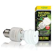 Компактная люминесцентная лампа Exo Terra «Natural Light» для облучения лучами УФ-В спектра 13 W, E27 PT2190