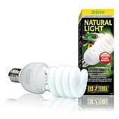 Компактная люминесцентная лампа Exo Terra «Natural Light» для облучения лучами УФ-В спектра 26 W, E27 PT2191