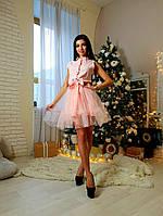 Женское шикарное платье с пышной юбкой, фото 1