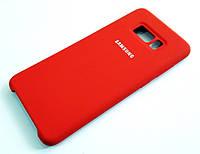 Чохол Silicone Case Cover Samsung Galaxy S8 Plus G955 червоний