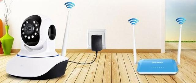 """Камера видеонаблюдения WIFI Smart NET camera Q5: продажа, цена в Мариуполе.  камеры видеонаблюдения от """"Юми"""" - 867691667"""