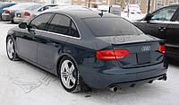 Диффузор юбка тюнинг обвес Audi A4 B8 дорестайл