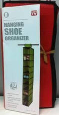 Органайзер подвесной для хранения обуви SHOES ORGANISER BOX 10, фото 2
