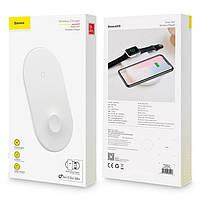 Беспроводное зарядное устройство Baseus Smart 2in1 (WX2IN1-02)