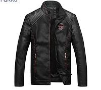 Мужская кожаная куртка. 01295, фото 1
