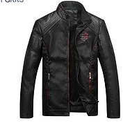 Мужская кожаная куртка. 01295