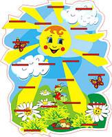 Подставка для лепки 20 полок Солнечная полянка