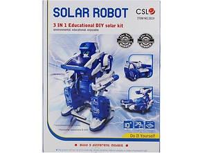Игрушка - трансформер на солнечных батарейках Solar Transformer 3 in 1 CG01 PR2, фото 2