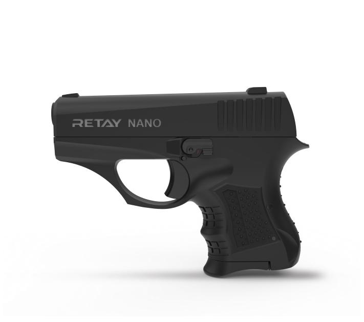 Стартовый пистолет Retay Nano 8 mm Black