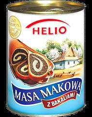 Masa Makowa Helio Маковая масса 850 г Польша
