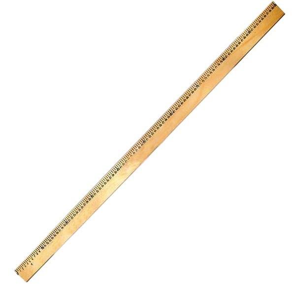 Лінійка 1 метр дерев'яна Атлас, К-4061, 103006