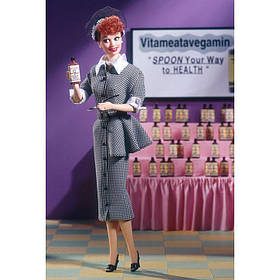 Кукла Барби коллекционная Люси Бол / Barbie Lucille Ball as Lucy Ricardo (1998 г.)