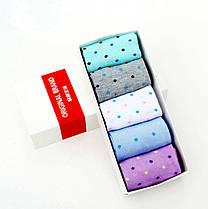 Набор женских носков в коробке подарочный, фото 3