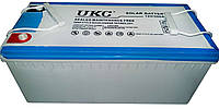 Гелиевый аккумулятор UKC Battery Gel 12V 200A ZDK