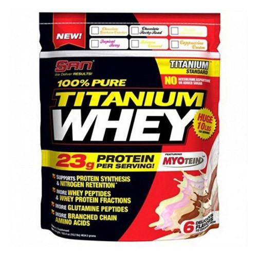 Протеин SAN 100% Pure Titanium Whey 4,63 kg