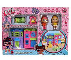 ЛОЛ Домик с Куклами и машиной