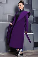 Модные женские пальто  - Мариз - ультрафиолет, фото 1