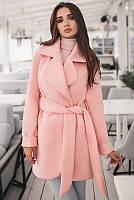 Розовые модные пальто -Альба - , фото 1